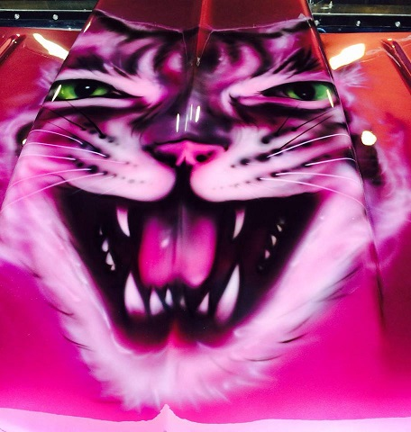 HCD Race Truck Hood copyright - Mystique the Savannah